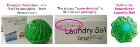 Imitiation Laundry Ball / SmartKlean Knock Off