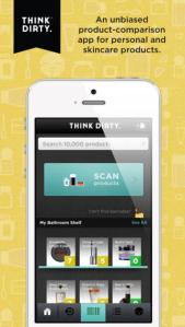 Think Dirty enables consumers to make greener choices in the beauty and cleaning aisle.